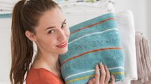 Wahre Keimschleudern: So oft sollten Sie Ihre Handtücher waschen