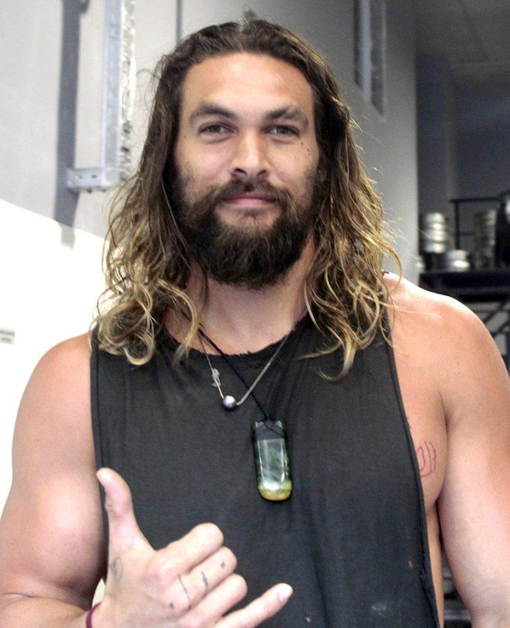 Jason Momoa Earns 'Cool Dad' Points For Taking Kids To