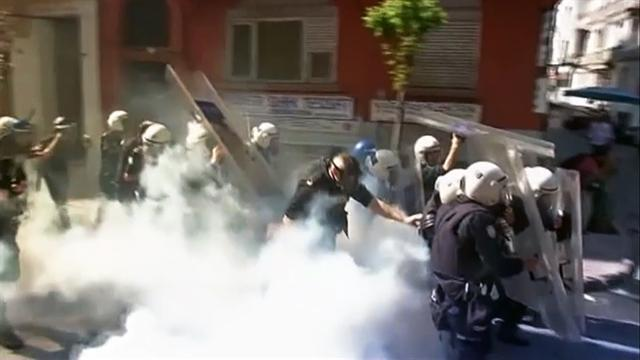 Protests erupt on May Day over working conditions