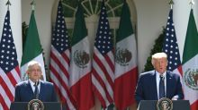 Meeting under virus cloud, US, Mexican leaders hail relations