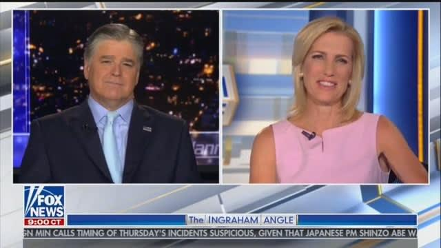 Hannity Wants 'Special Permission' to Run White House Press Briefings With Ingraham