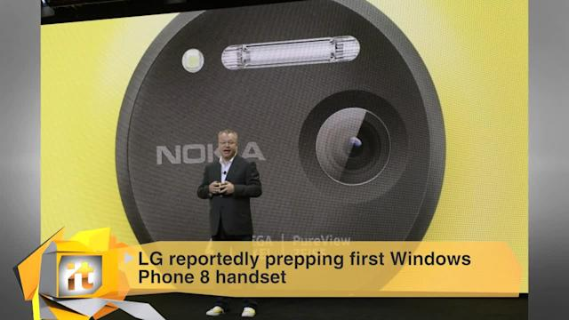 Top Tech Stories of the Day: LG Reportedly Prepping First Windows Phone 8 Handset