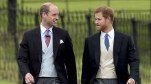 """Prinz William und Prinz Harry kommen zur """"Star Wars""""-Premiere"""