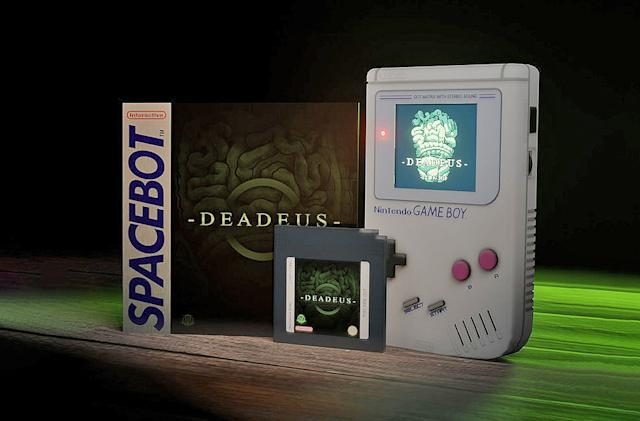 'Deadeus' is a darkly original horror game for the Game Boy