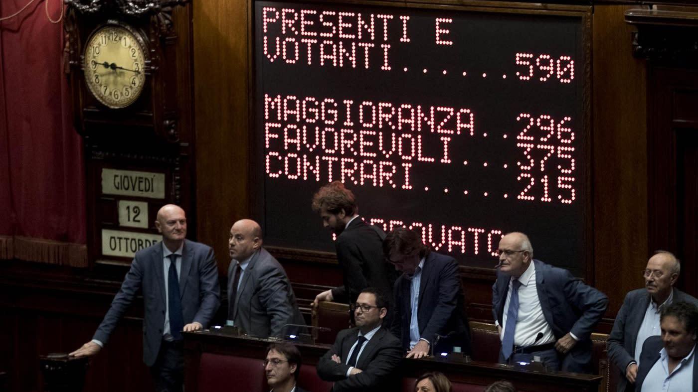 Rosatellum supera voto segreto approvato alla camera con for Votazioni alla camera