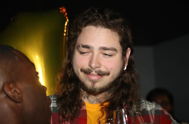 Post Malone sets Apple Music streaming record with song 'Rockstar'