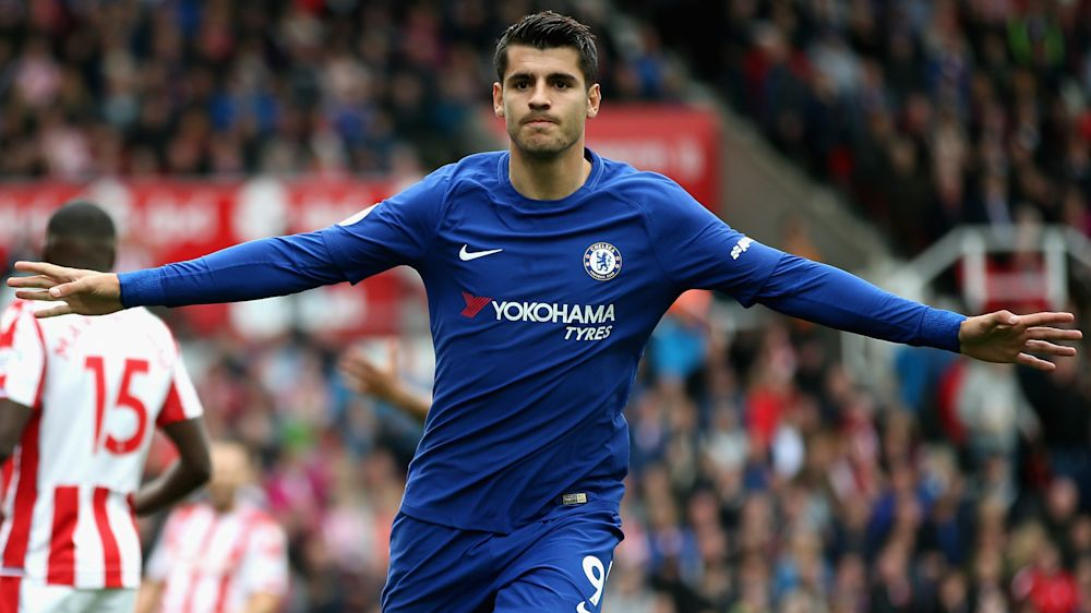 Stoke City 0 Chelsea 4: Magic Morata hits hat-trick