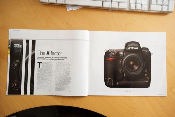 Nikon outs D3x in own Pro magazine