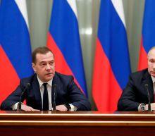Russian Prime Minister Dmitry Medvedev, entire Cabinet resign