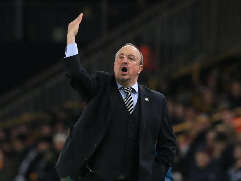 Rafa Benitez calls for more goalkeeper protection following Wolves' late equaliser