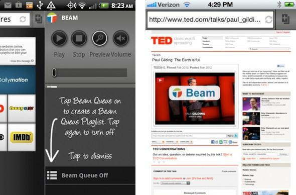 Twonky Beam update for Android, iOS streams to Roku, Xbox 360