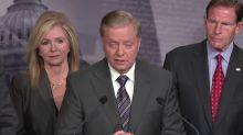 Graham outlines sanctions bill against Turkey over Syria