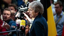 May warns EU plans 'put at risk' post-Brexit security cooperation