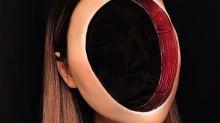 Esta maquiadora vai dar nós em sua cabeça com seus visuais de ilusão ótica