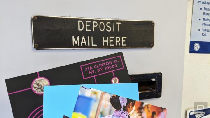 Slot at post office