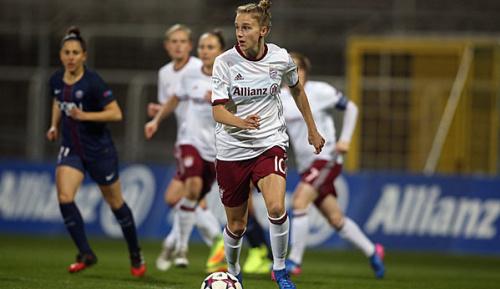 Frauen-Fußball: 1:0 gegen Paris: Bayerns auf Halbfinal-Kurs