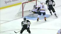 Marek Mazanec robs James Neal with the glove