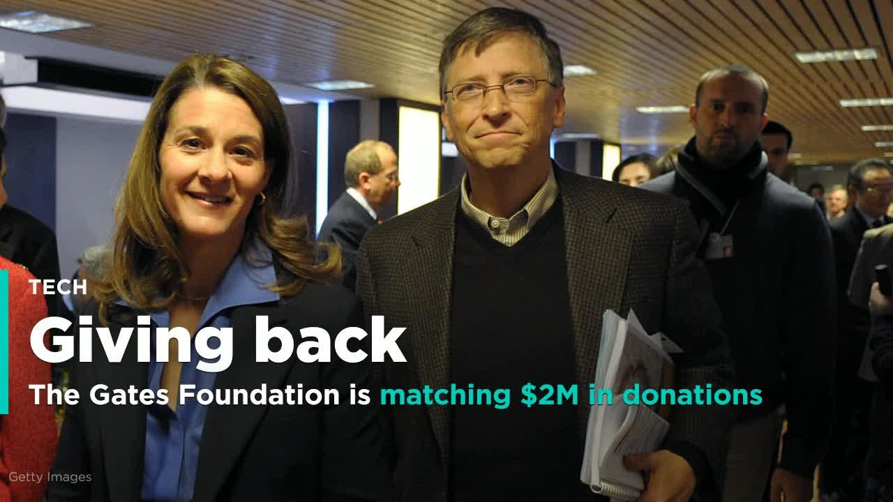 The Gates Foundation Is Matching 2m In Donations On