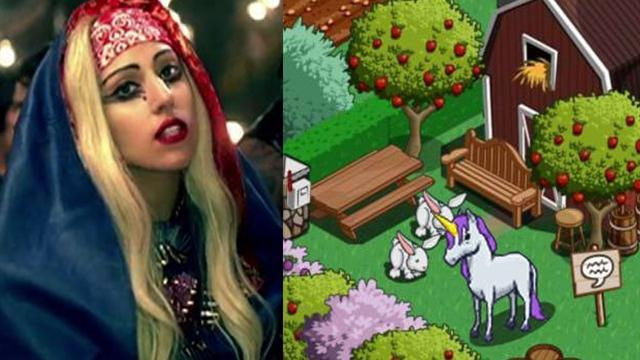 FarmVille goes Gaga