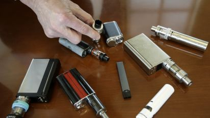 Patient's death may be first in U.S. tied to vaping
