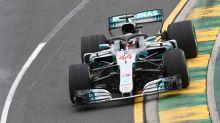 Hamilton's blistering lap to claim pole for Australian F1 GP