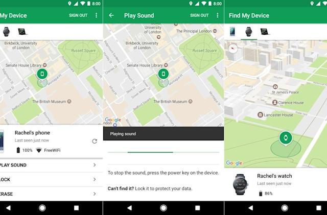 Android Device Manager has a new name: Find My Device