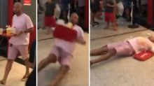 Indignación en Brasil por esta práctica absurda de 'caer muerto' en plena calle