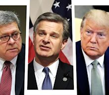 Trump may fire Bill Barr and FBI director for not aiding his campaign by investigating Biden: report