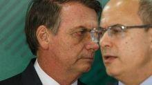 'Bolsonaro é que tem que estar preocupado com uma prisão', diz Witzel