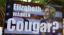 Warren turns 'cougar' accusation into a talking point for her college debt plan