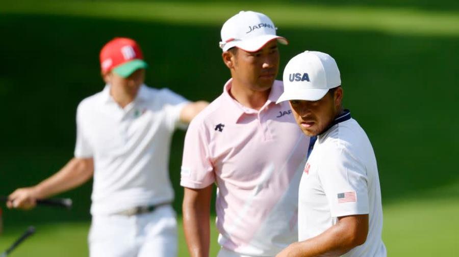 Olympics-Golf-Matsuyama and Schauffele brace for replay of Masters showdown