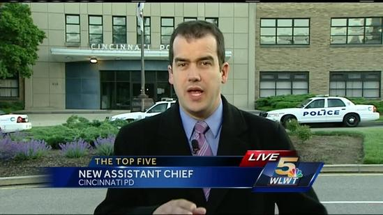 Captain promoted to become Cincinnati's assistant police chief