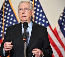 Republican group targets 'hypocrite' Mitch McConnell for turnabout on Supreme Court nominations during election season