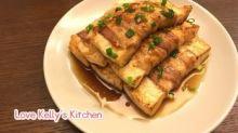 [15分鐘食譜] 燒汁豬腩肉豆腐卷