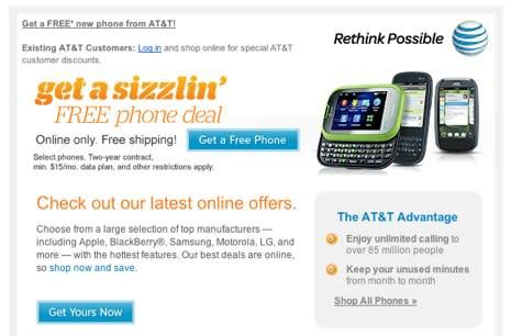 AT&T misses another iPhone opportunity