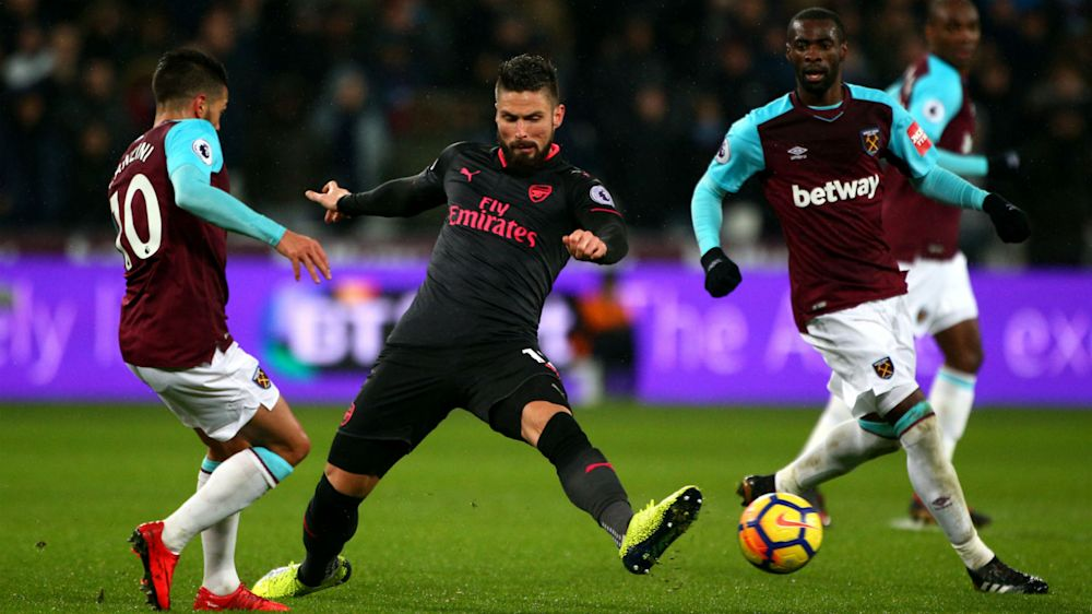 West Ham 0 Arsenal 0: Wasteful Gunners drop points for third game in a row