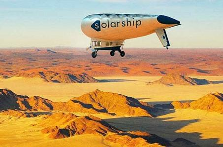 Solar Ship takes to the skies powered by good deeds and sunshine (video)