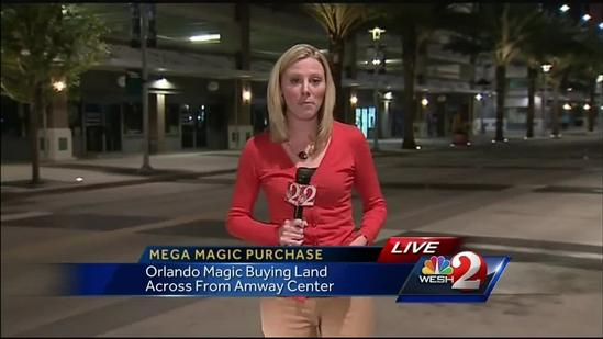 Orlando Magic buy downtown land for entertainment complex
