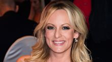 Lingerie-clad Stormy Daniels folded laundry to 'Another Brick in the Wall' during Trump's speech