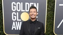 Ryan Seacrest didn't want to talk about Time's Up on Golden Globes red carpet