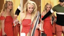 Britney Spears Leaves Treatment Center, Seen in Beverly Hills