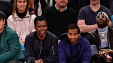 Aziz Ansari makes his first public appearance in months