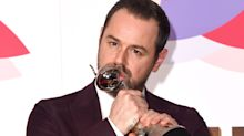 Danny Dyer turns in an emotional, sweary acceptance speech at the NTAs