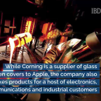 Corning Stock Pops On 5G Optical Fiber Growth As Apple Business Slows