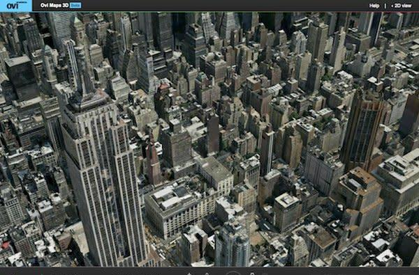 Nokia launches Ovi Maps 3D beta, challenges Google Earth as your virtual tour guide of choice