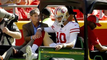 Jimmy G's season is over: 49ers QB has torn ACL