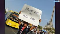 Thai PM Returns To Bangkok As Protest Showdown Looms