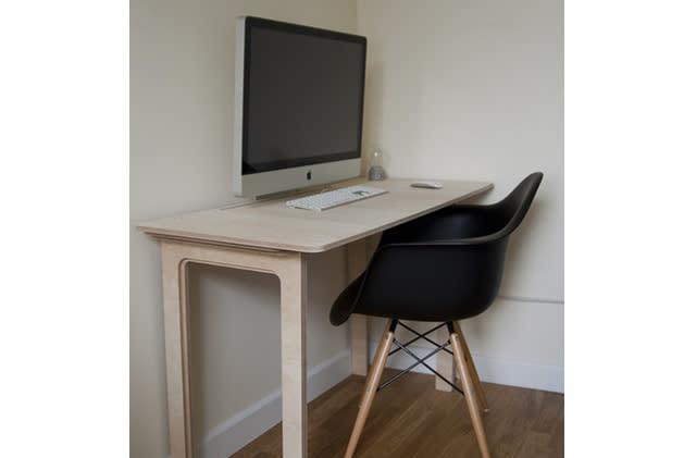 Flickr Find: Minimal desk hides some clever engineering