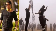 Akshay Kumar Plays Volleyball With the Indian Army on Army Day