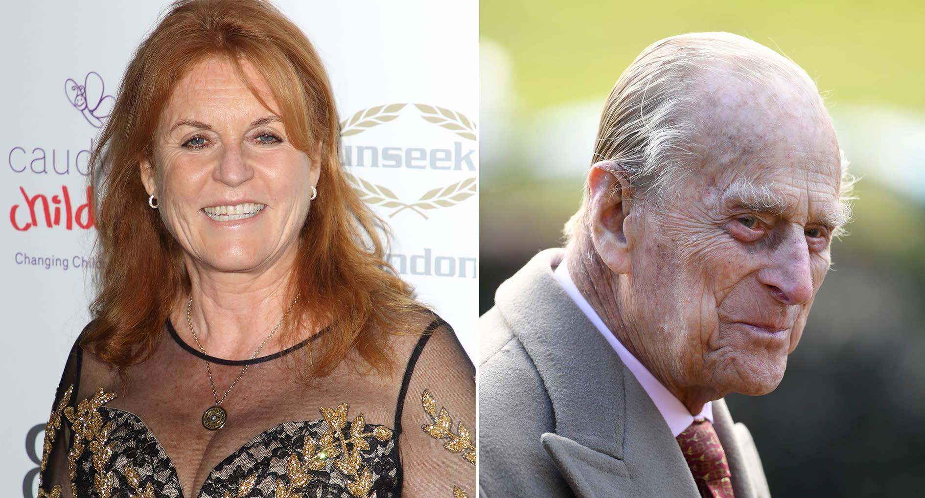 Sarah Ferguson 'forced to leave Balmoral' after Prince Philip arrives